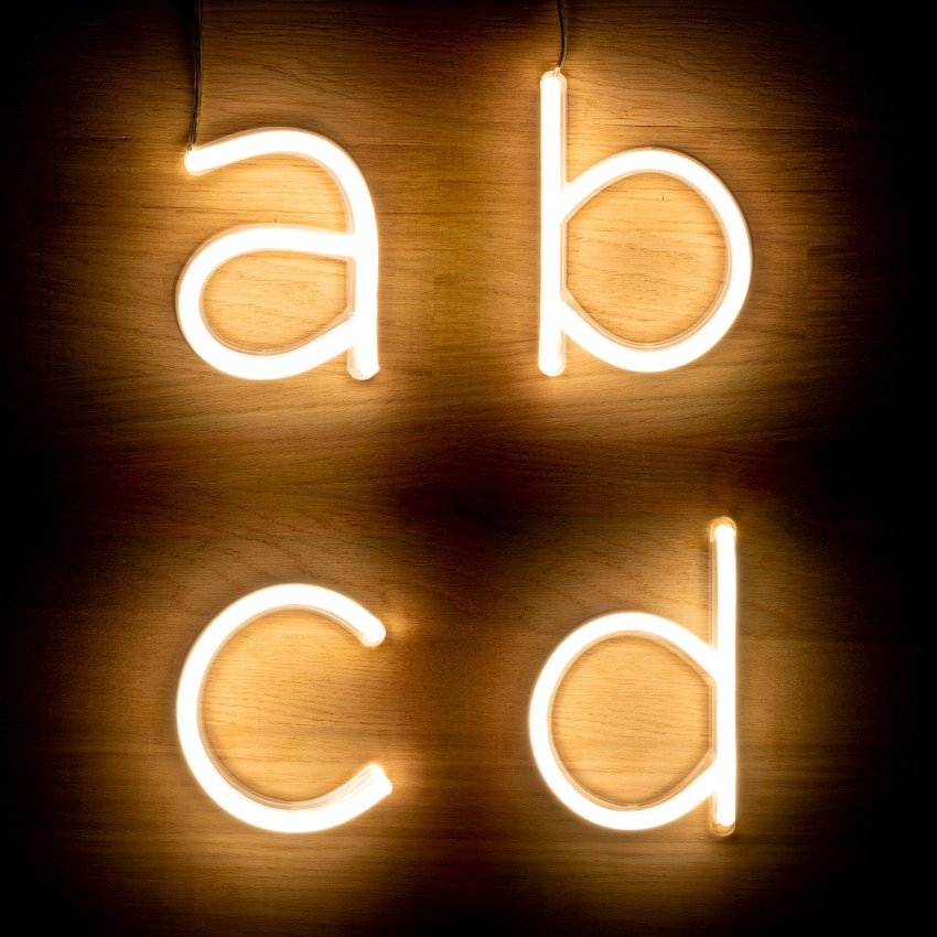 Letras Neón LED