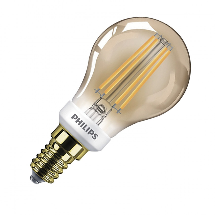 Bombilla LED E14 Regulable Filamento PHILIPS 5W