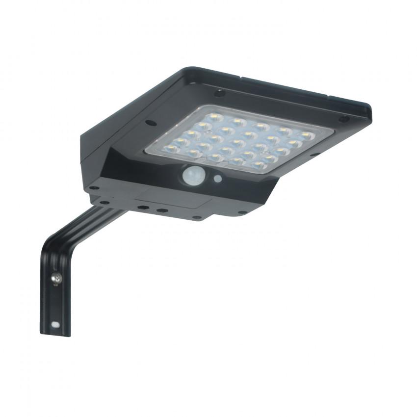 Luminária LED Solar com Sensor de Movimento e Crepuscular 4W