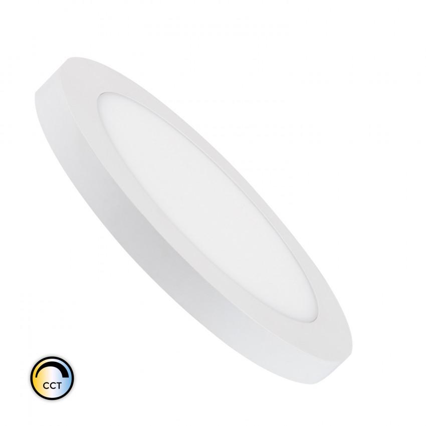 Plafón LED 22W CCT Seleccionável Circular Corte Ajustável Ø 60-160 mm