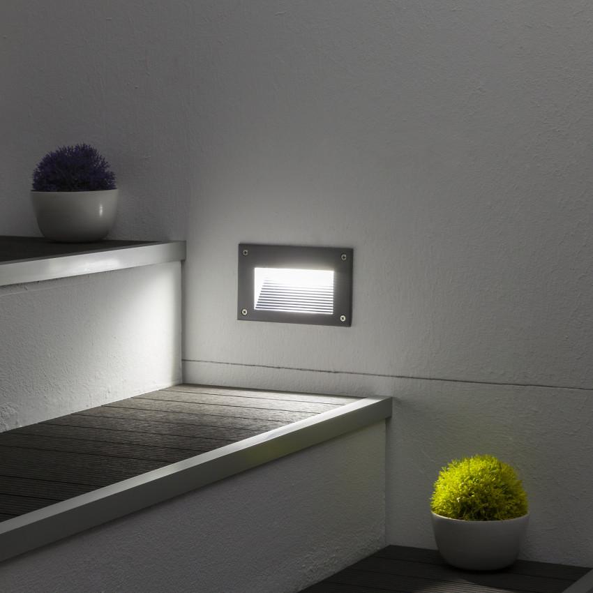 Baliza LED Mystic Acabado Gris 3W