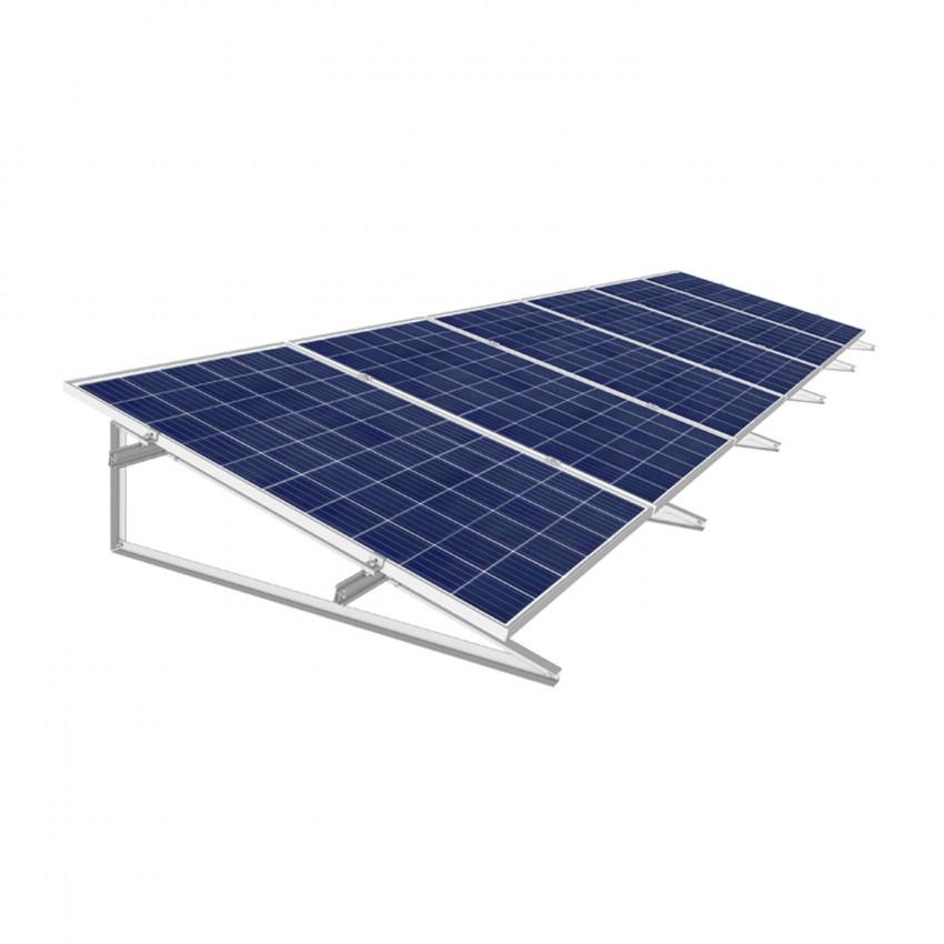 Estructura Coplanar para Paneles Solares 30º Inclinación