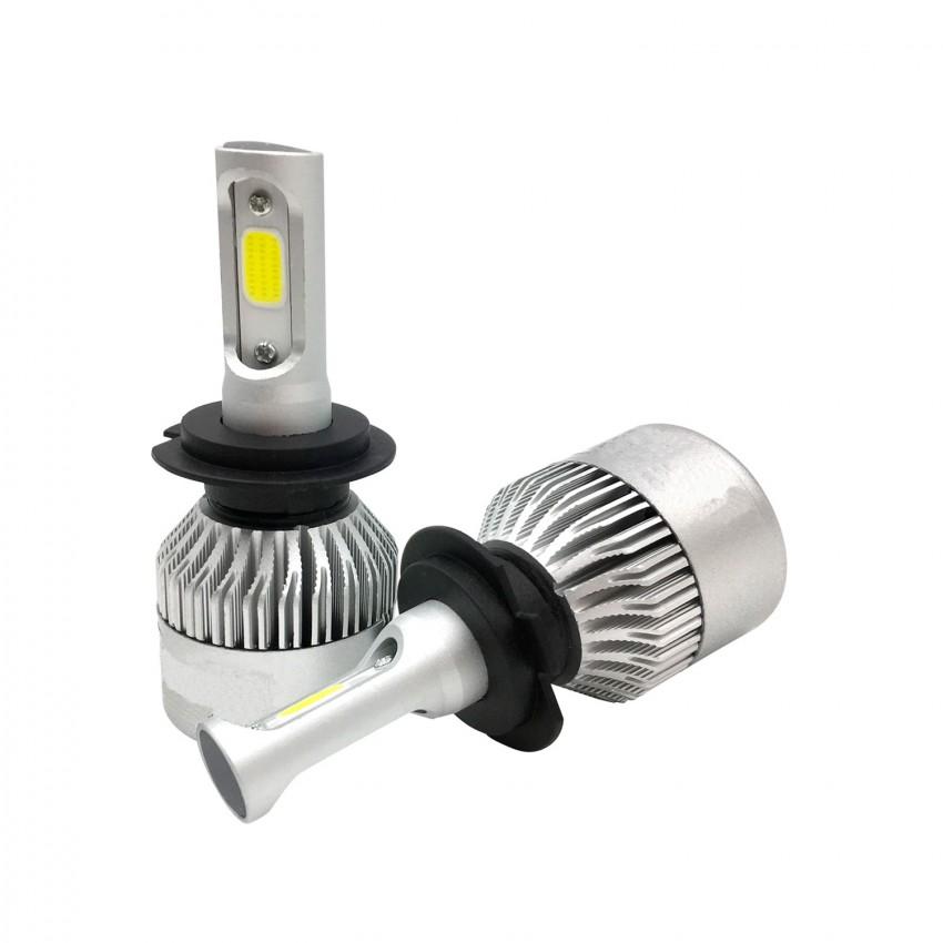 KIT Bombillas LED COB H3 20W para coche o moto