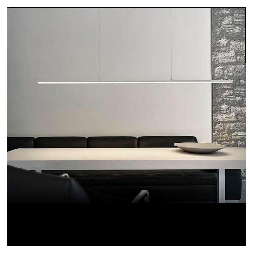 Perfil de Aluminio Suspenso 1m para Fita LED
