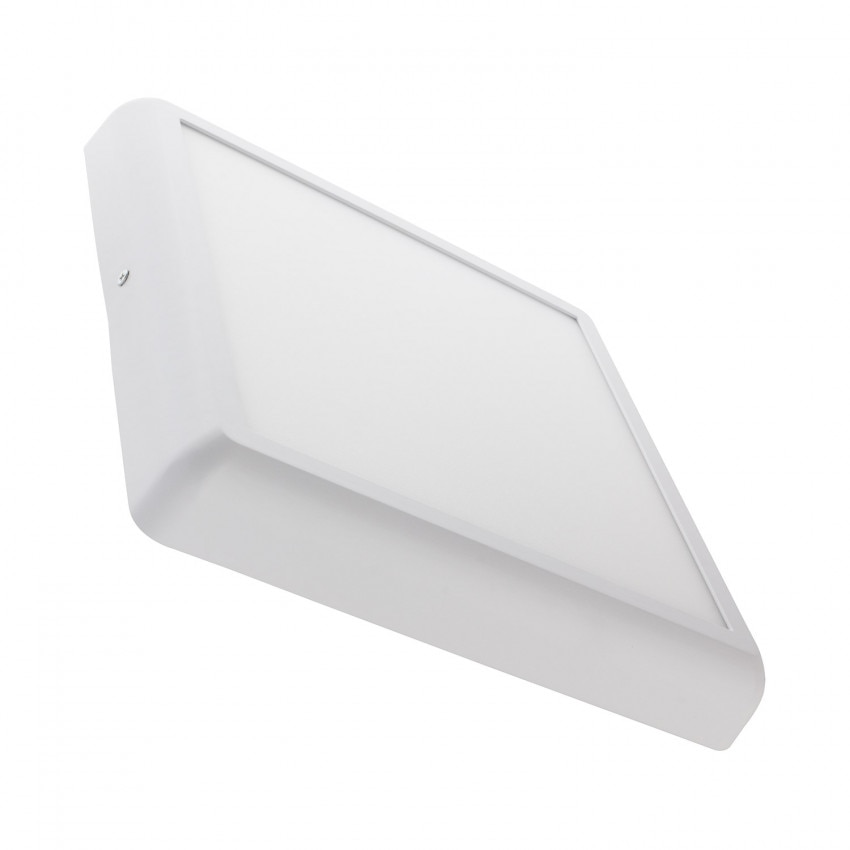 Plafón LED 24W Cuadrado Design White