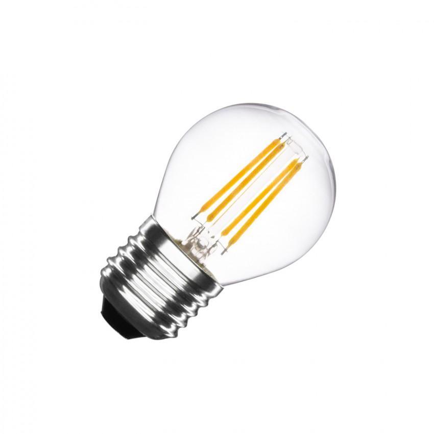 Lâmpada LED E27 Filamento G45 4W