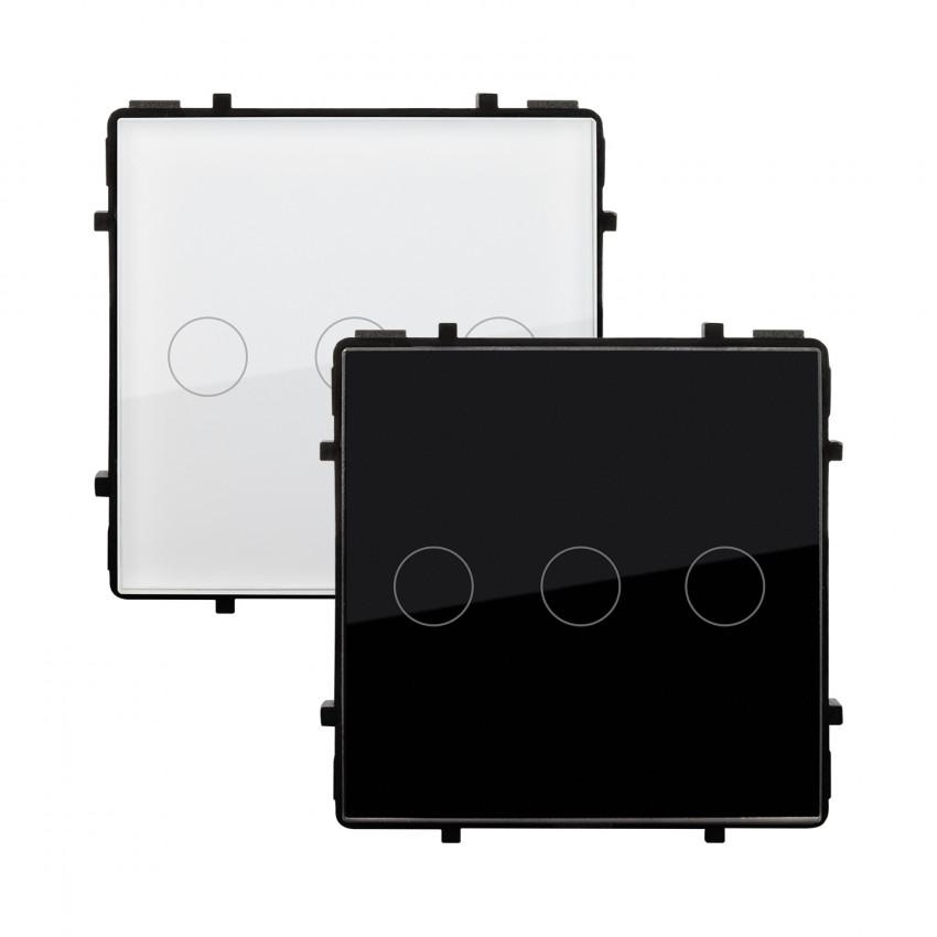 Interruptor Táctil Triple Remoto Modern