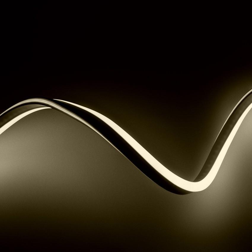 Fita Neon LED Regulável 220V AC 120 LED/m Branco Quente à Medida