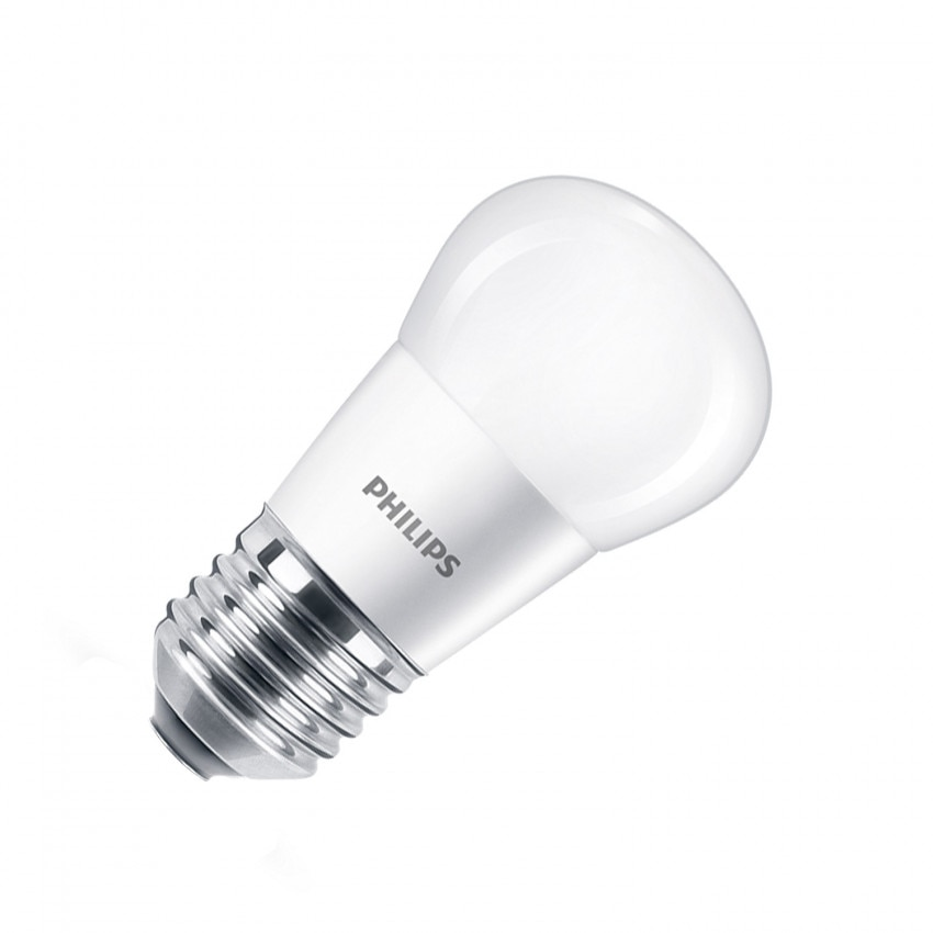 Blister Lâmpada LED E27 P45 PHILIPS 5.5W (3 un)