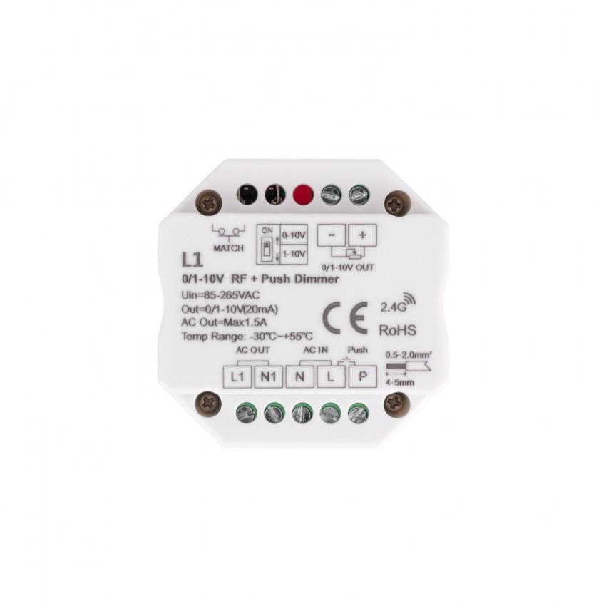 Regulador LED 1-10V RF/Pulsador