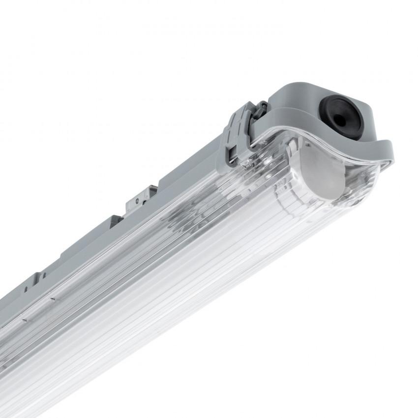 Kit Armadura Hermética Slim com um Tubo LED 1500mm Conexão Uni-Lateral