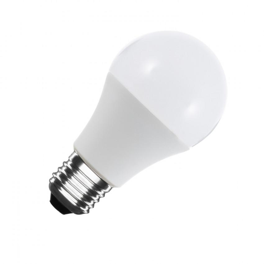 Bombilla LED E27 A60 12V DC 120º 6W