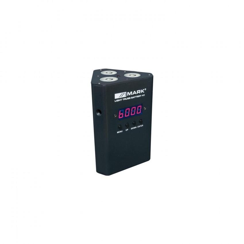 Foco Proyector LED 12W LIGHT TRUSS BAT 41 DMX RGBW con Batería EQUIPSON 28MAR050