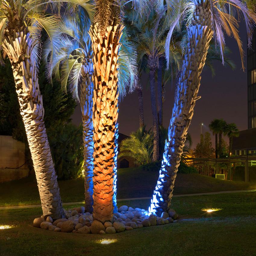 Foco LED Circular Empotrable en Suelo Gea Power Led IP67 18W 15º LEDS-C4 55-9667-CA-CL