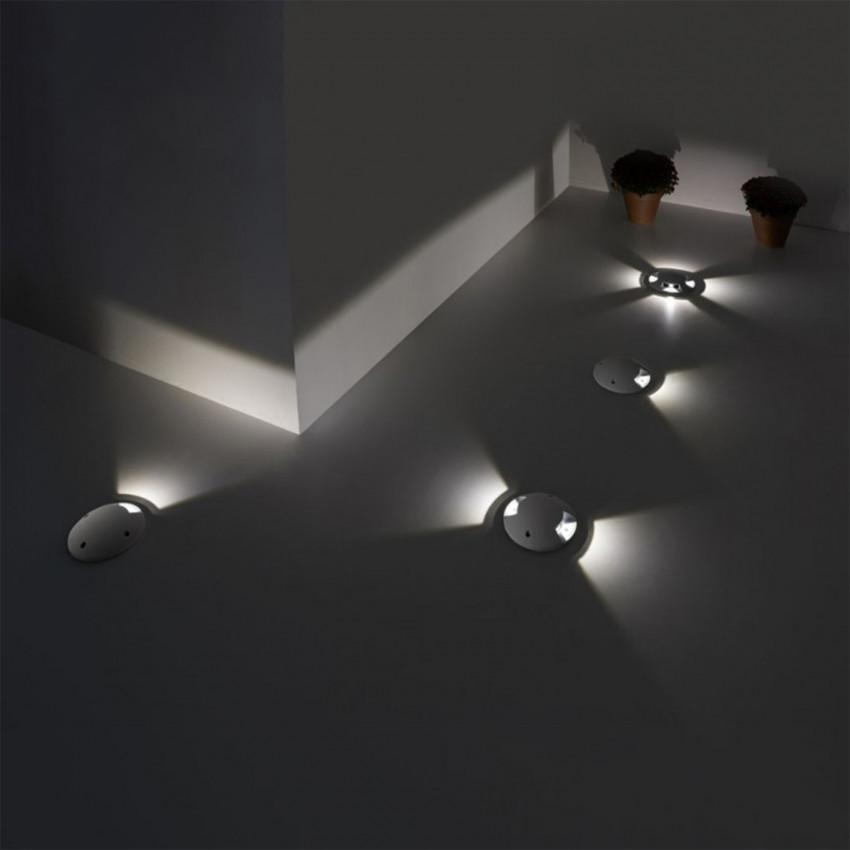 Baliza LED Encastrável de Chão Xena IP67 LEDS-C4 55-9424-34-CM