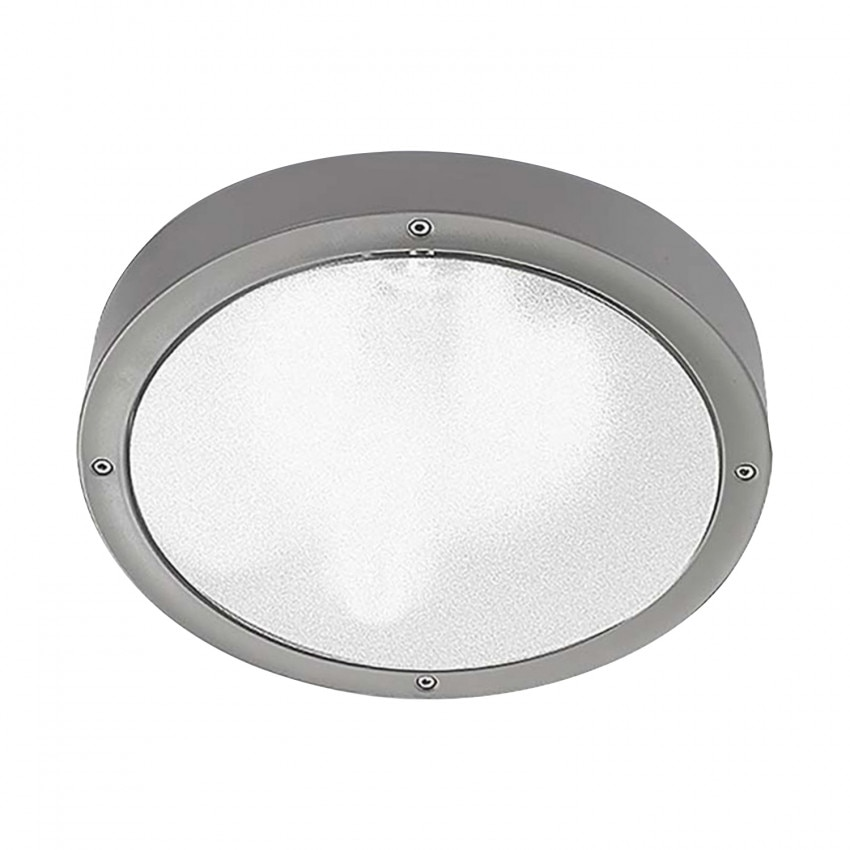 Plafón LED Basic Technopolymer 14.5W IP65 LEDS-C4 Small 15-9491-34-CL