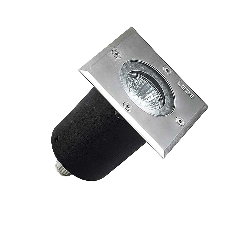 Foco Cuadrado Empotrable en Suelo Gea GU10 IP67 LEDS-C4