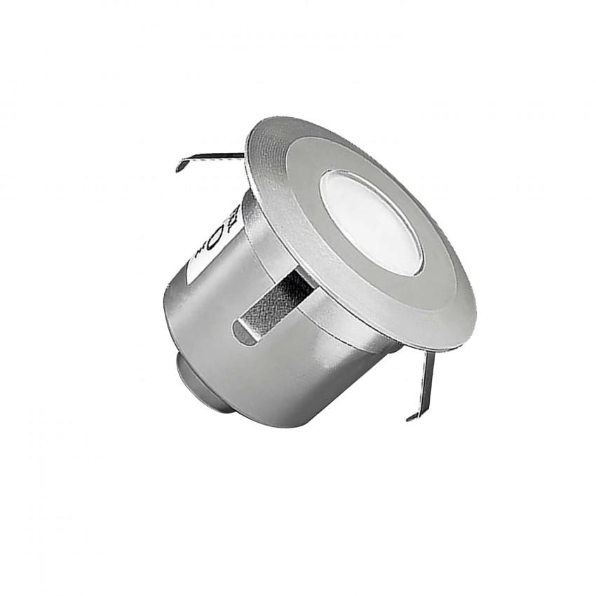 Foco LED Circular Empotrable en Suelo Gea Signaling 1W IP67 LEDS-C4 55-9769-54-T2