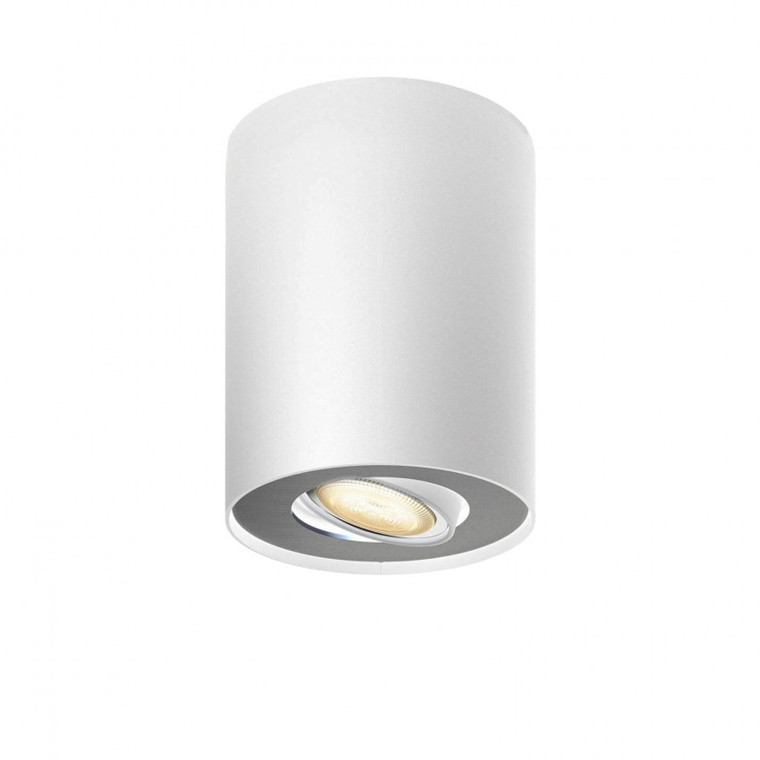 Aplique de Techo LED CCT PHILIPS Hue White Ambiance Pillar 5W