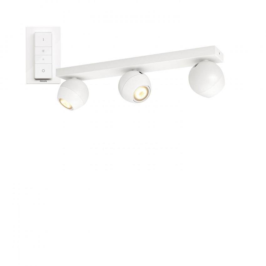 Lámpara de Techo LED White Ambiance 3 Focos 15W PHILIPS Hue Buckram