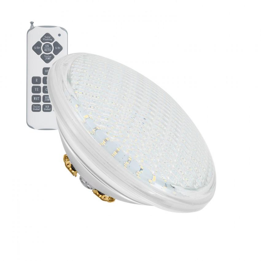 Lâmpada LED Piscina Submersível RGB 12V IP68 18W