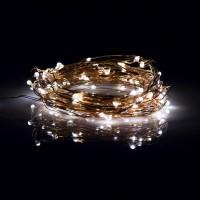 Grinalda LED de Arame Ouro Rosa 716cc70f2f