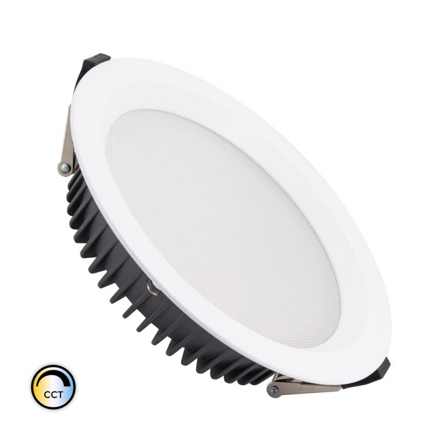 Downlight LED 50W SAMSUNG New Aero Slim CCT Seleccionable 130 lm/W LIFUD Corte Ø 200 mm