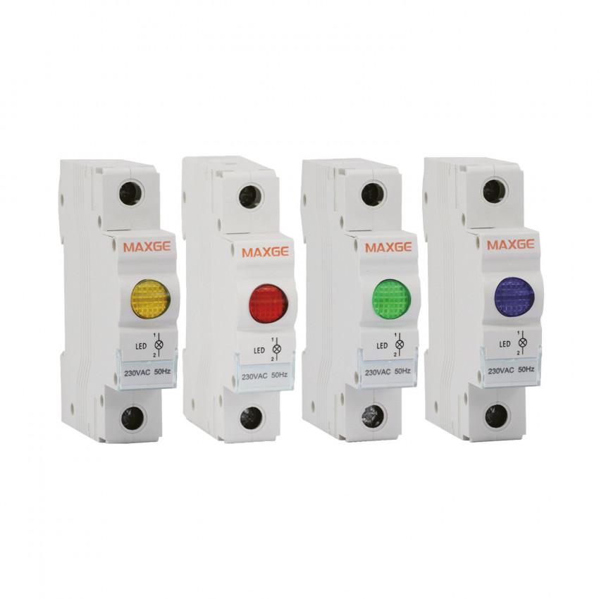 Indicador Luminoso LED MAXGE Alpha+ 230V