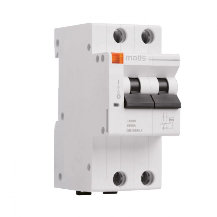 Interruptor Magnetotérmico Inteligente MAXGE 2P Control por APP