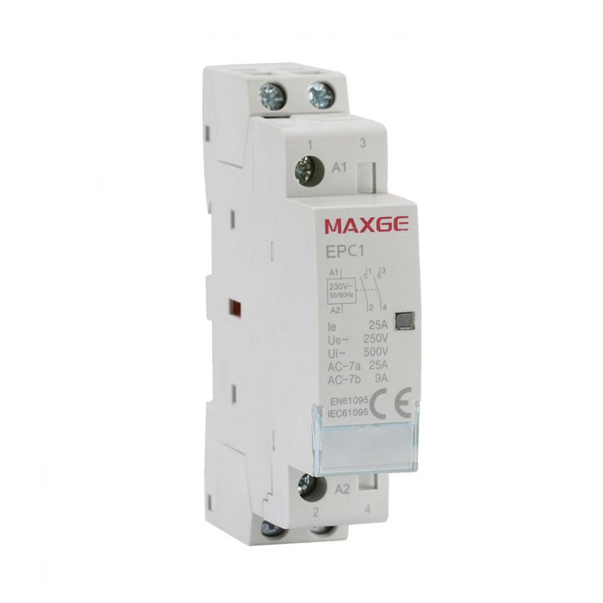 Contator MAXGE 2P-25A-230V AC
