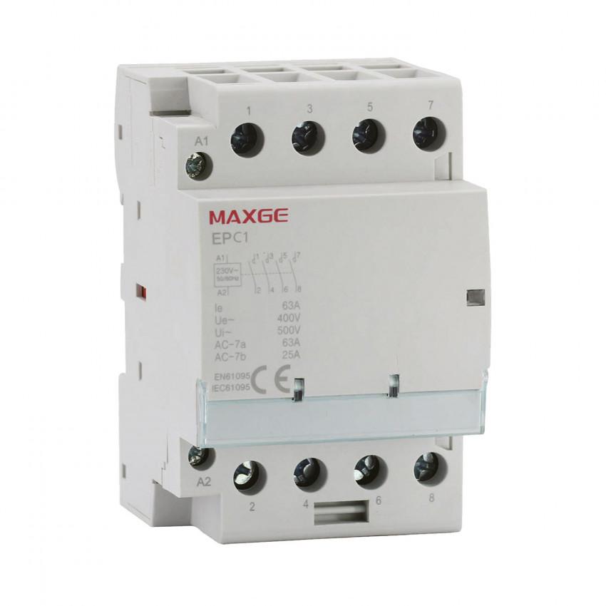 Contactor MAXGE 4P-63A-230V AC
