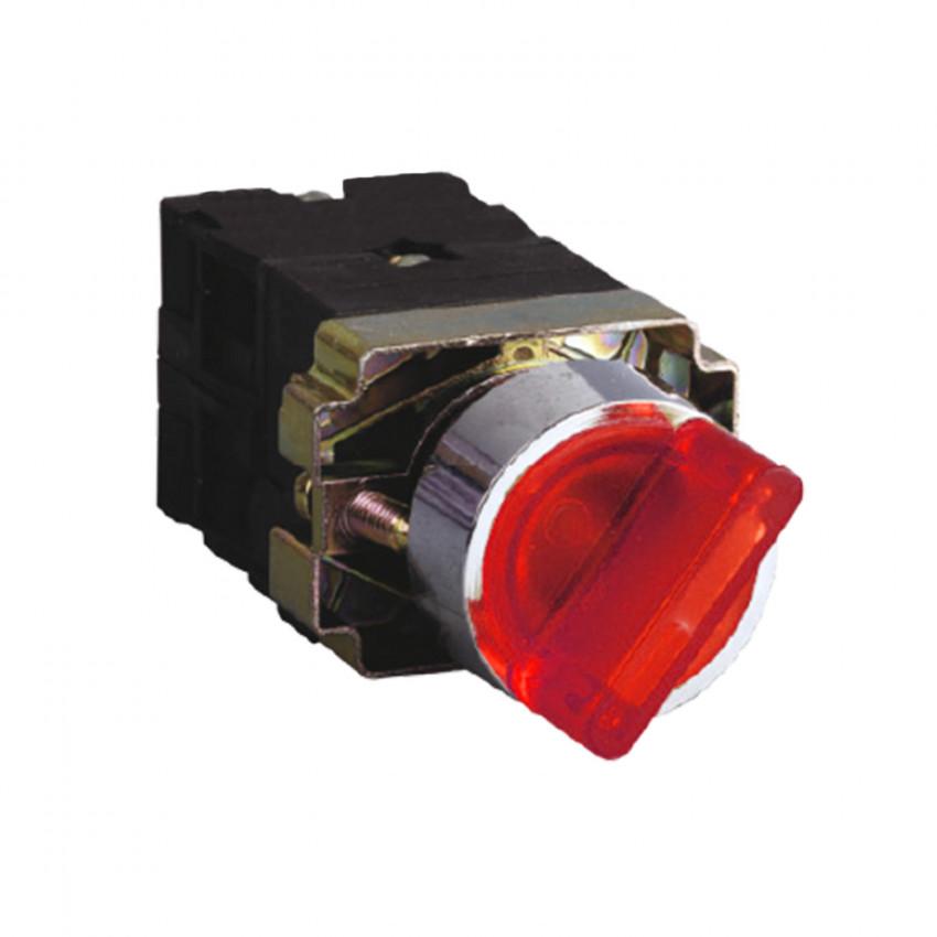 Selector Luminoso MAXGE 2 Posiciones 1NC+1NO