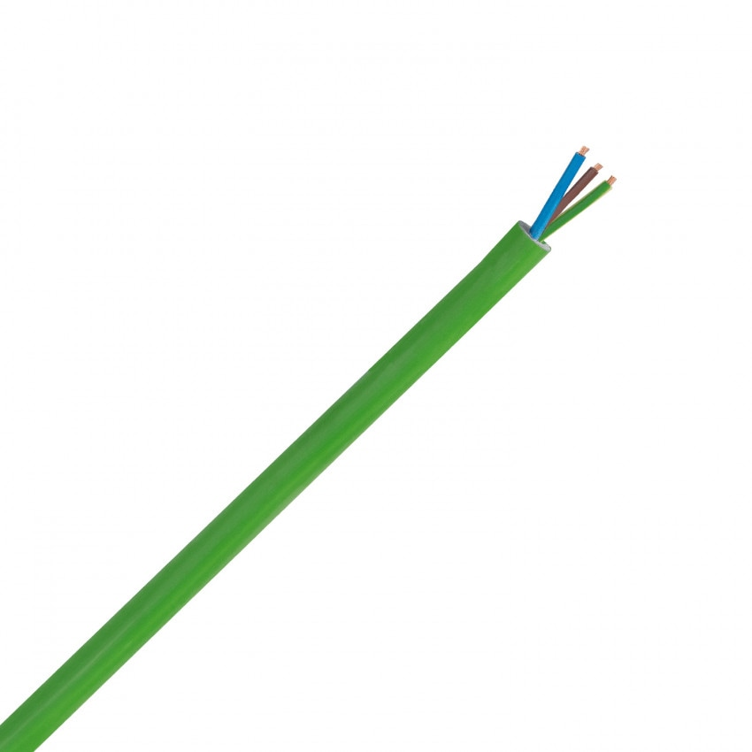 Cable Eléctrico Manguera 3x1.5mm² Libre Halógenos RZ1-K (AS)