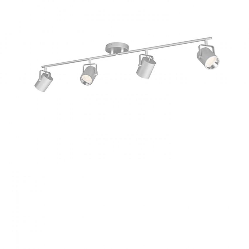 Lámpara de Techo LED PHILIPS Cuádruple Byre 4 Focos 17.2W