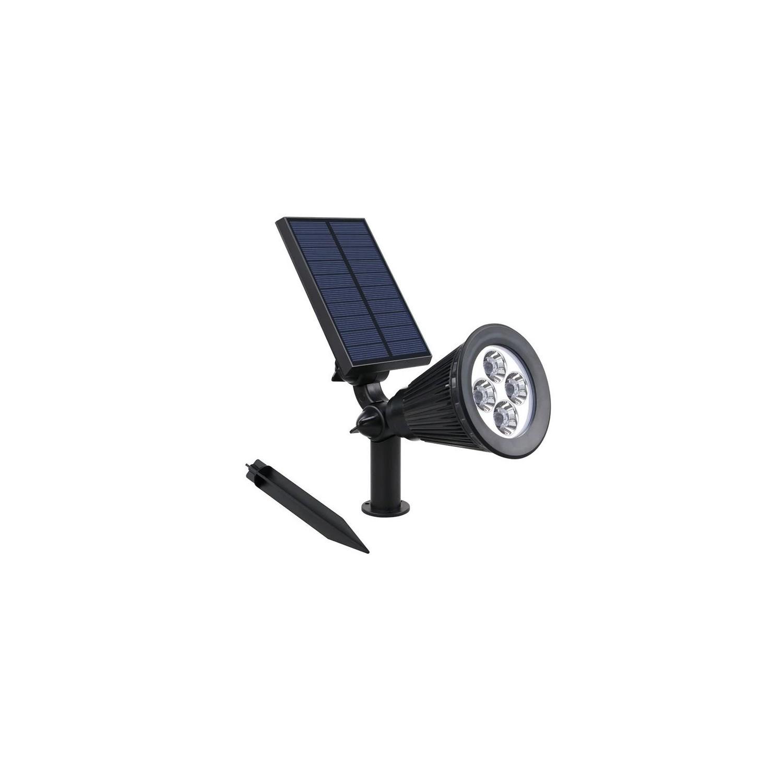 Foco LED Solar con Pincho Detector Movimiento Opción il. Seguridad