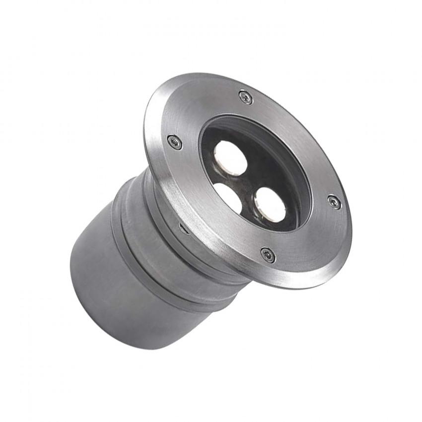 Foco Led Circular Encastrável no Chão  Aqua 5W IP68 LEDS-C4 55-9792-CA-CM