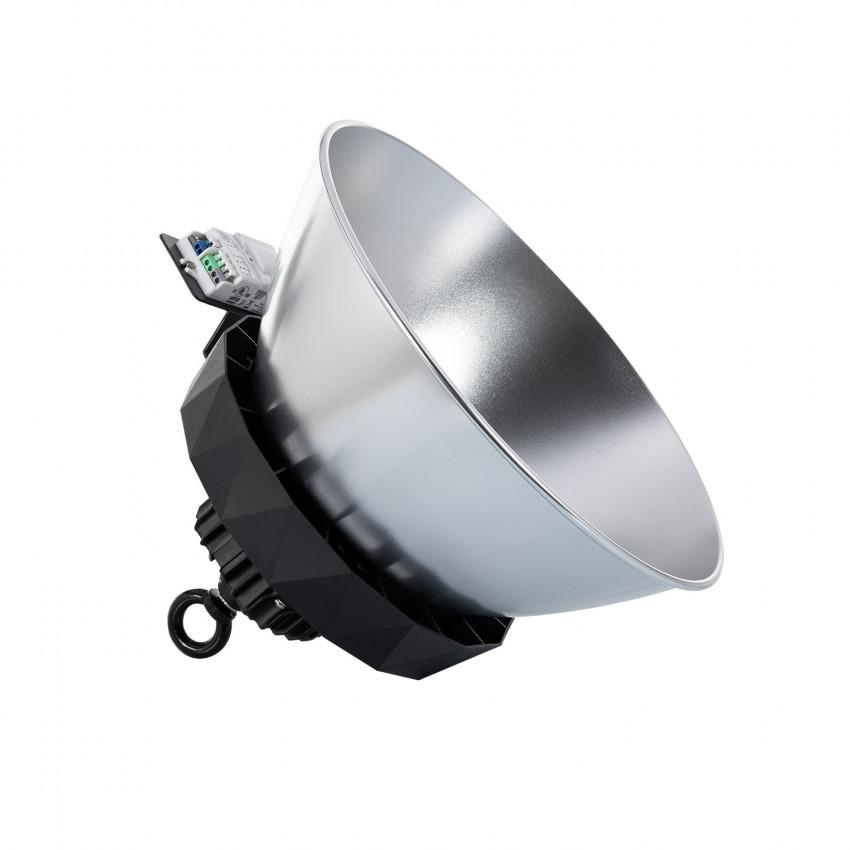 Campânula LED UFO HBS SAMSUNG 150W 175lm/W LIFUD Regulável NO Flicker com Sensor Mov. Crep. e Refletor