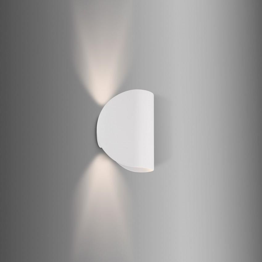 Aplique LED Gaia 6W Branco Iluminação Dupla