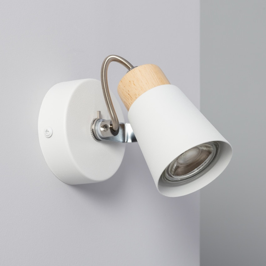 Lámpara Orientable Mara 1 Foco Blanco