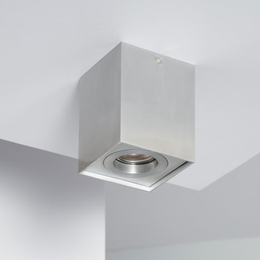 Aplique Techo Jaspe Aluminio Plata