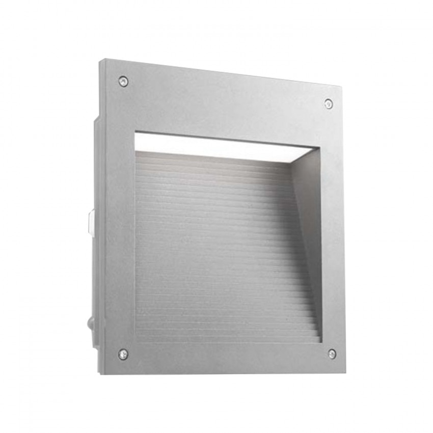 Baliza LED Empotrable  Micenas Square 20W IP65 Gris LEDS-C4 05-9885-34-CL