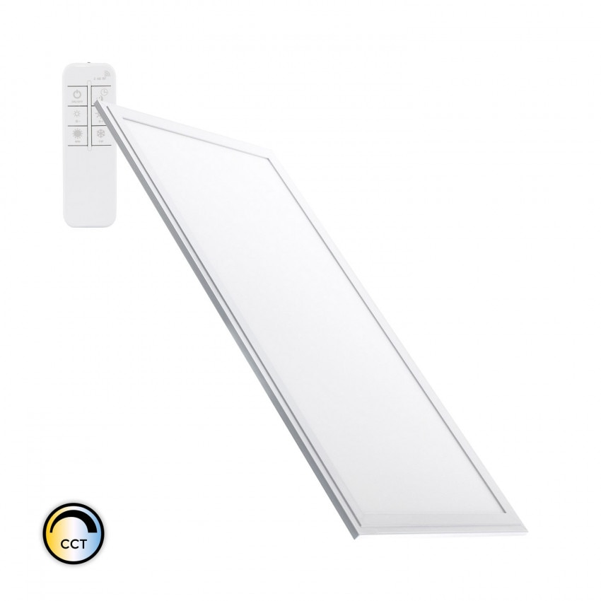 Panel LED 60x30cm 24W 2400lm Regulable CCT Seleccionable