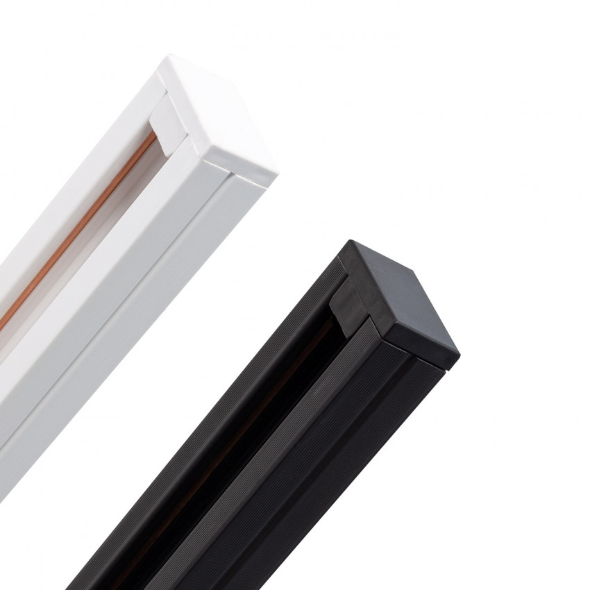 Carril Monofásico PC para Focos LED 1 Metro