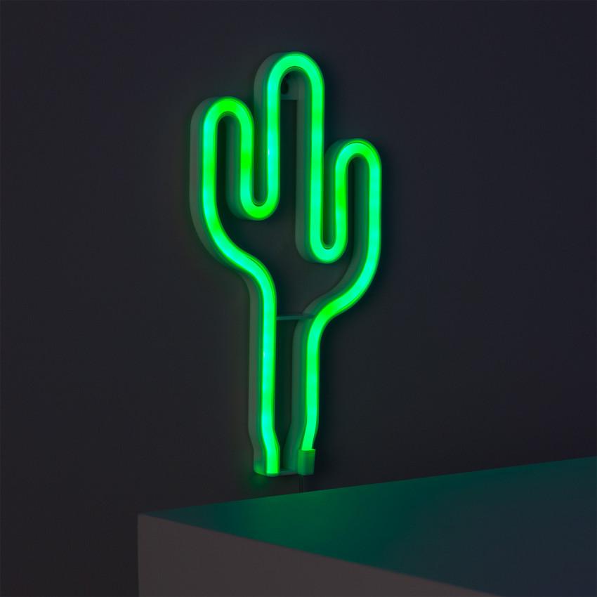 Neón LED Cactus con Batería