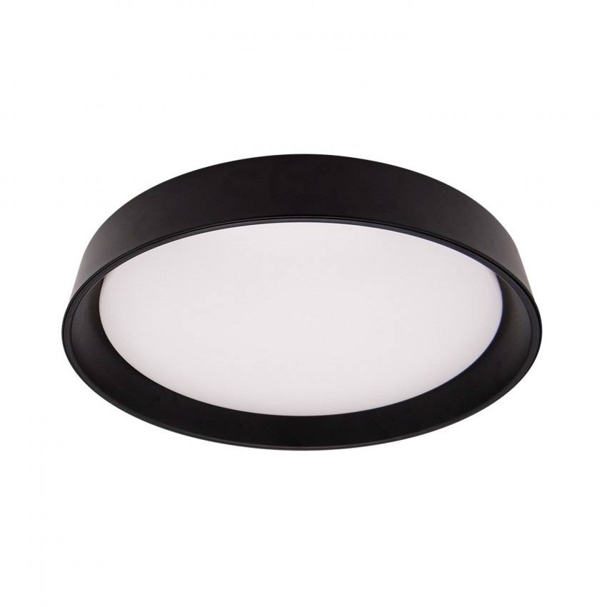 Plafón LED Circular Design CCT 30W Black