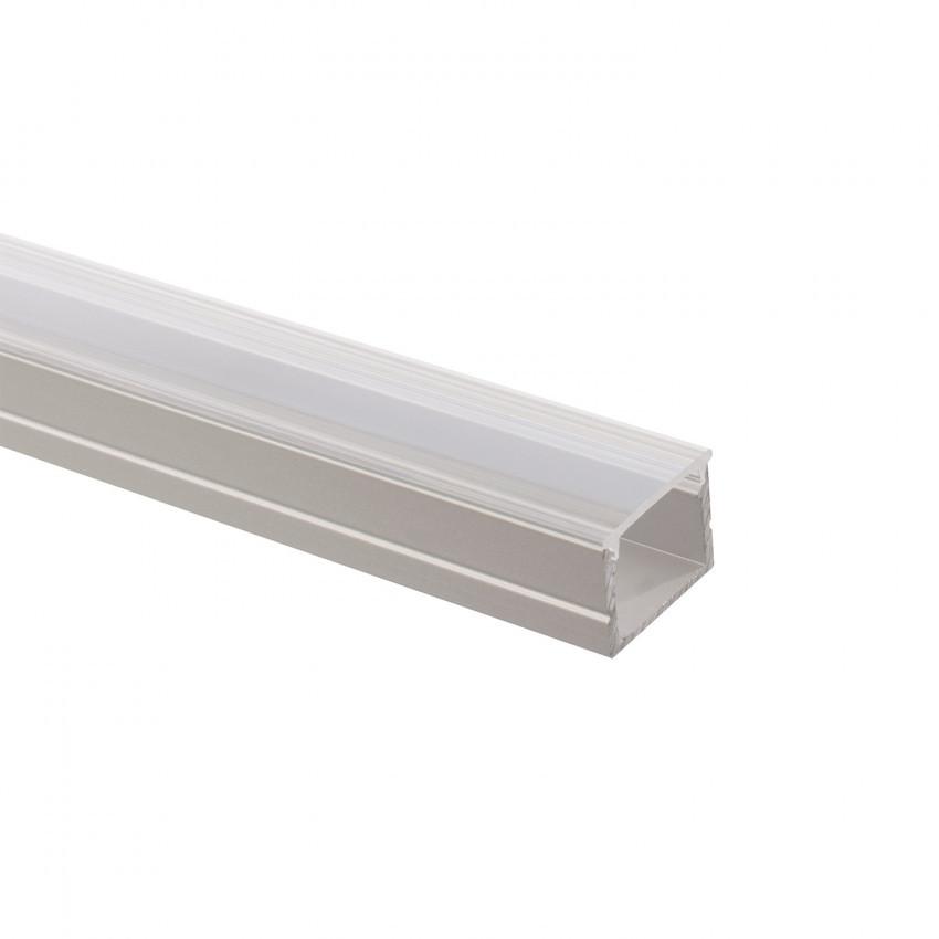 Perfil de Aluminio con Tapa Continua para Tiras LED 220V Monocolor a Medida
