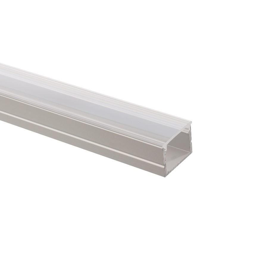 Perfil de alumínio com cobertura contínua para Fitas LED de 220V AC RGB à Medida