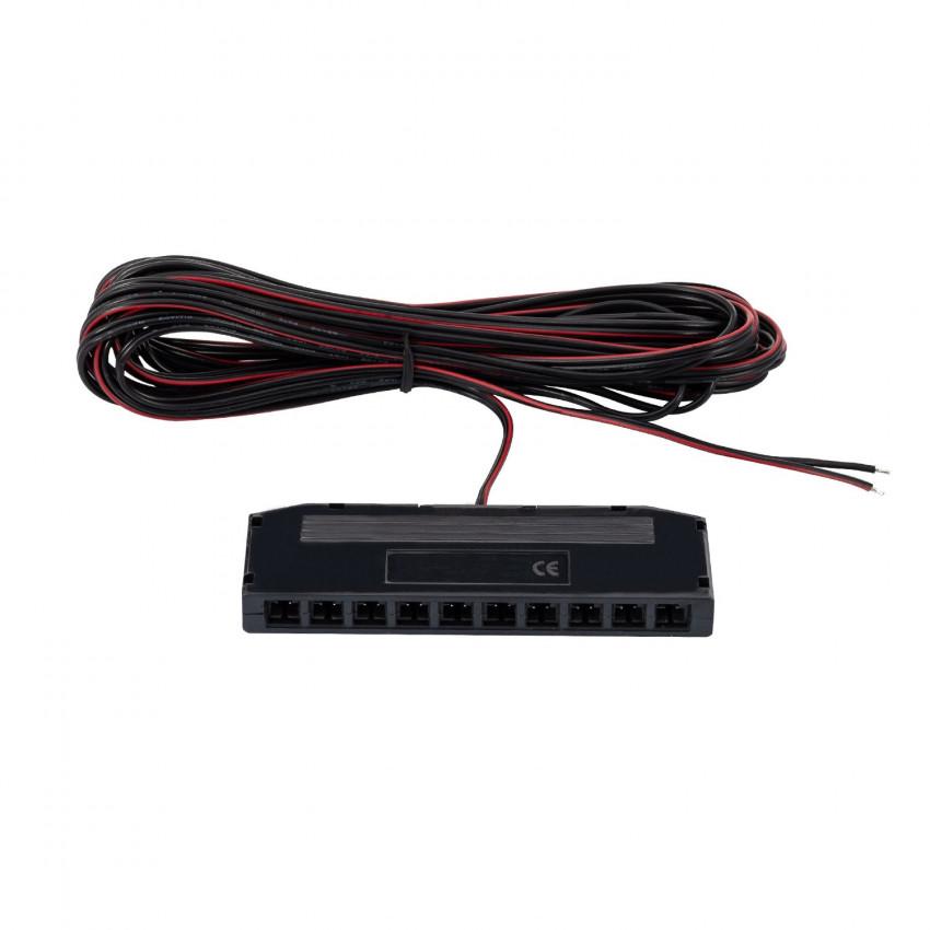 Conector Distribuidor de 10 vías para Tiras LED