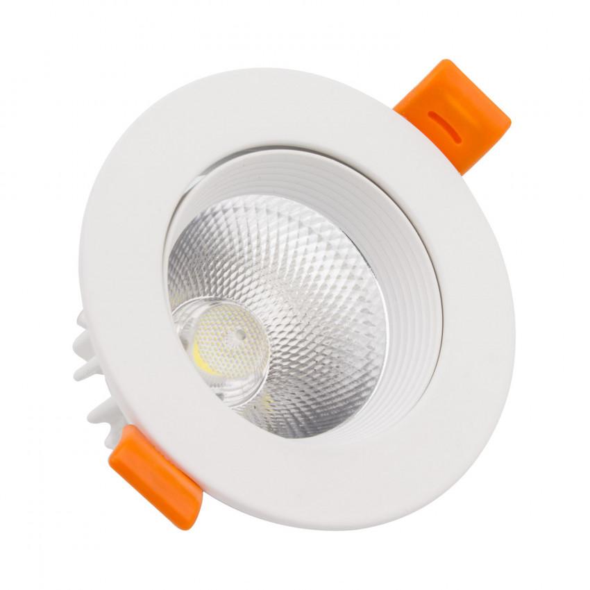 Foco Downlight LED 15W COB Direcionável Circular (UGR19) Branco Corte Ø90 mm CRI92 Expert Color