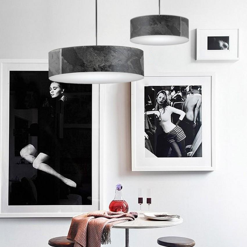 Lámpara Colgante LED Ercle 50W Black
